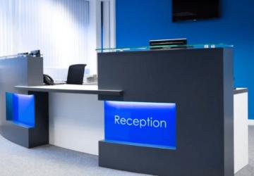 rECEPTION branding